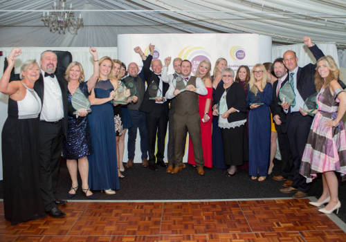 Gallery Direct are officially the 2017 Swale Business of the Year